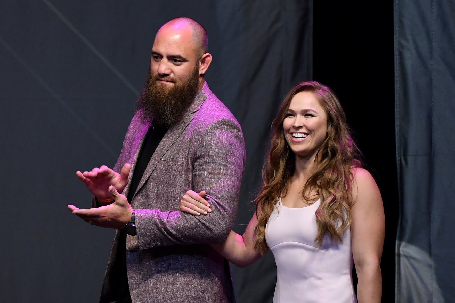 Ronda Rousey To Form WWE Mixed Tag Team With Husband Travis Browne? 1
